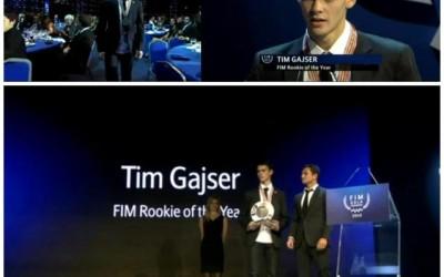 Tim Gajser je dobitnik najprestižnejše nagrade za najboljšega mladega motokrosista na svetu