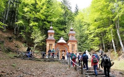 Obisk Ruske kapelice pod Vršičem