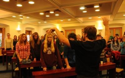 Uspele priprave pevskega zbora in filmskega krožka v Celju