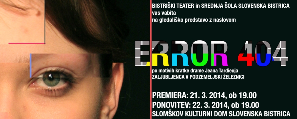 Gledališka predstava ERROR 404