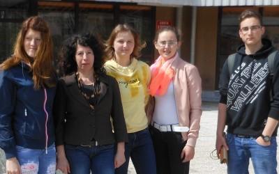 Karina Vešnik osvojila zlato priznanje