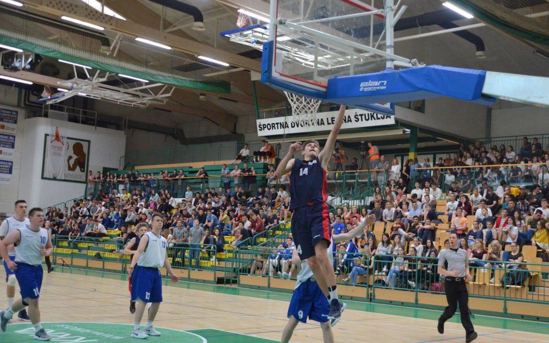 Šolsko državno prvenstvo v košarki za srednje šole (finale v Novem mestu)