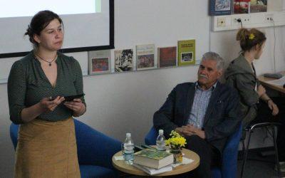 V Srednji šoli Slovenska Bistrica gostili pesnika Andreja Brvarja, Prešernovega nagrajenca