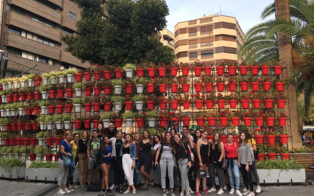 Ponovno na mednarodni izmenjavi – tokrat pri prijateljih v Španiji
