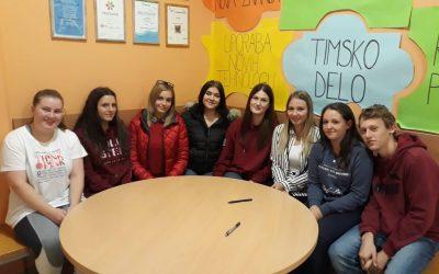 Podjetniški krožek na Srednji šoli Slovenska Bistrica