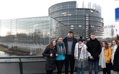 Obisk Evropskega parlamenta v Strasbourgu