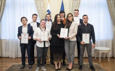 Dijakinja Srednje šole Slovenska Bistrica Klara Očko – izbranka Fundacije za ustvarjalne mlade