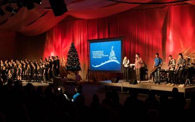 Decembrski božično-novoletni koncert SŠSB spet navdušil polno dvorano obiskovalcev