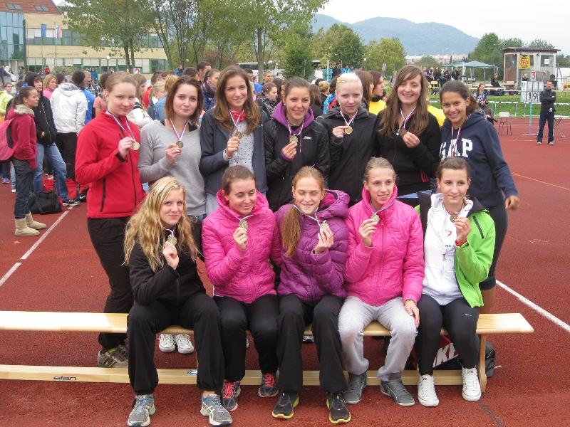 Naše atletinje so bile ponovno uspešne!