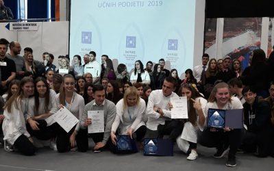 Naši dijaki v samem vrhu najboljših na mednarodnem sejmu učnih podjetij