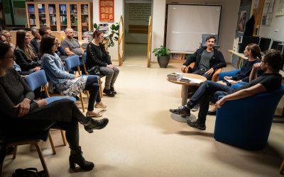 Alibi  za branje – literarna čajanka na Srednji šoli Slovenska Bistrica
