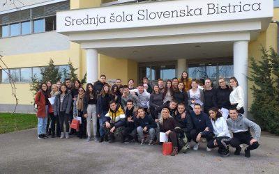 SŠSB gostiteljica partnerjev iz Romunije in Srbije – projekt Erasmus+ Mladi v akciji