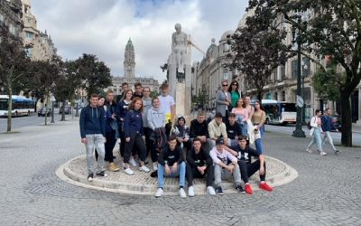 Dijaki na delovni praksi na Portugalskem